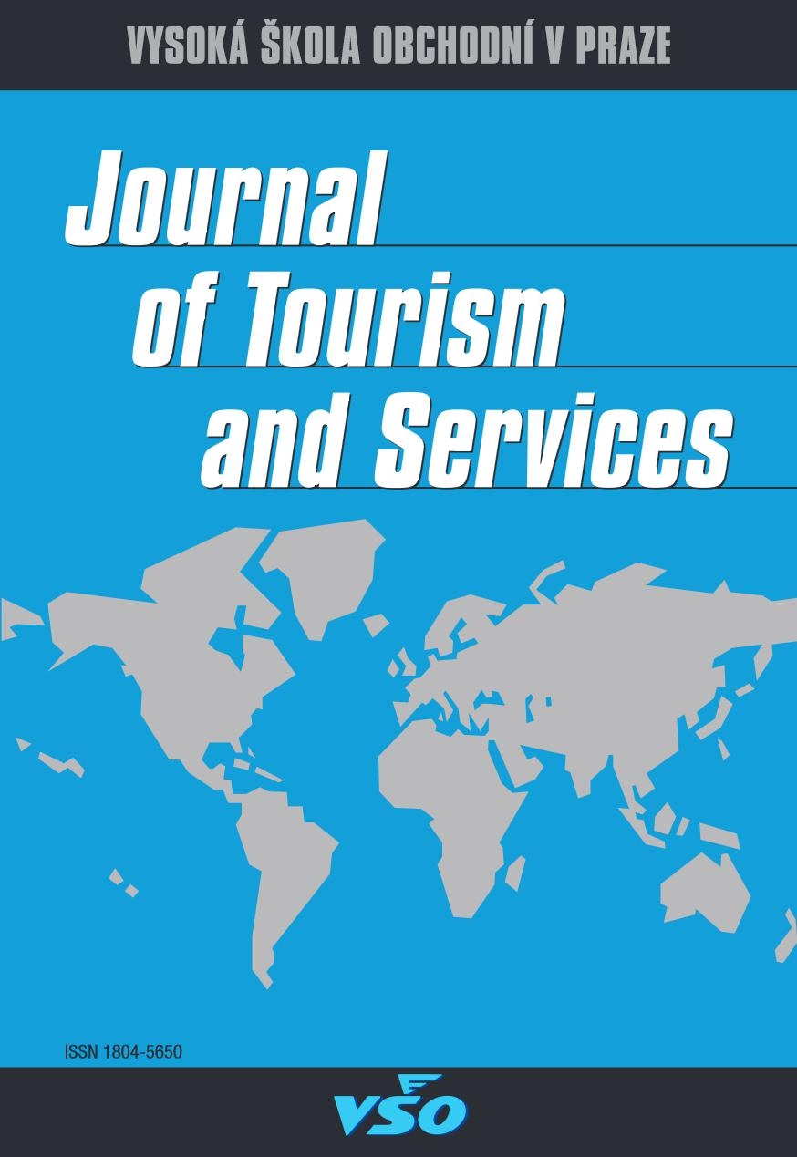 View Vol. 12 No. 22 (2021): Journal of Tourism and Services